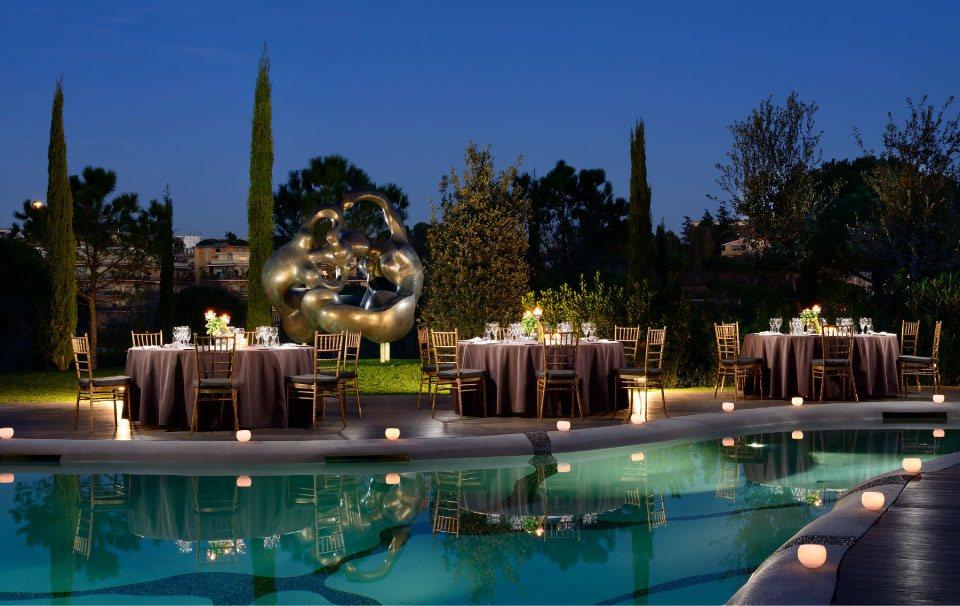 realizzazione piscina per hotel