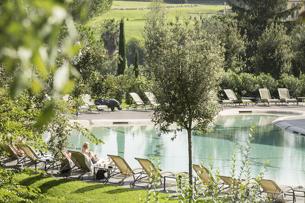 Piscina naturale per Hotel a Roma
