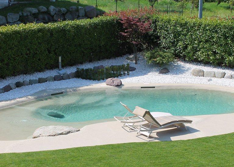 Costruzione piscina naturale