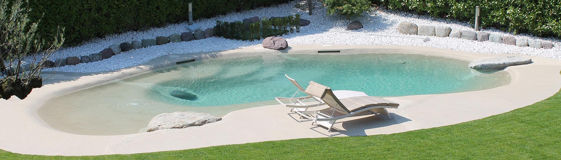Realizzazione piscina naturale