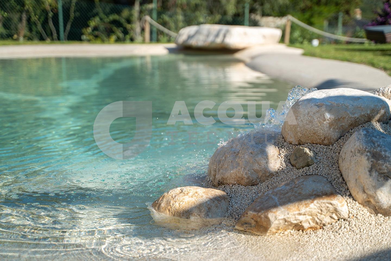 Piscina naturale a Gargnano