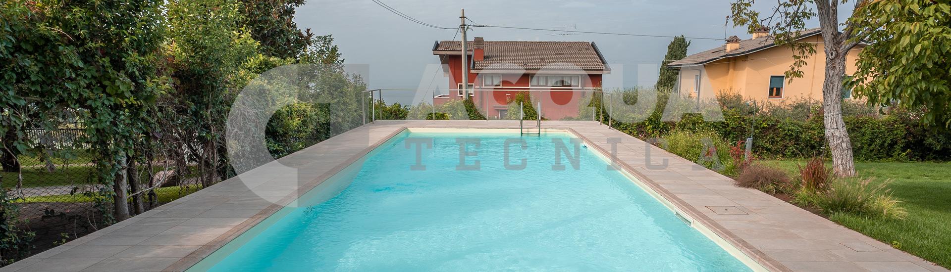 Ristrutturazione piscina a Bardolino